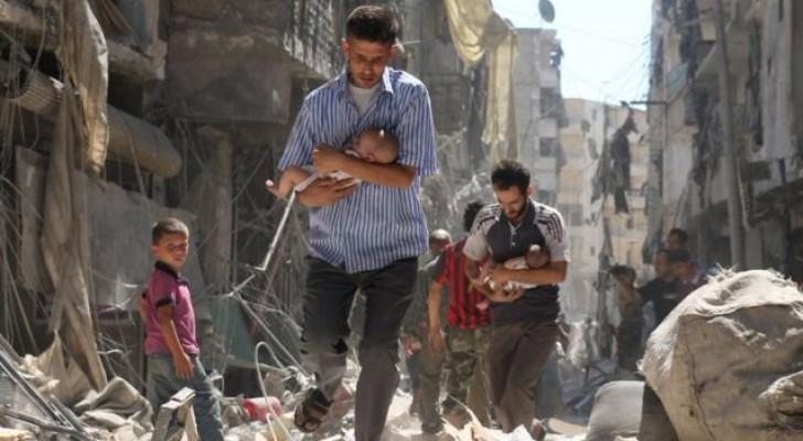 مشاهد الدمار في حلب جراء تعرضها للقصف