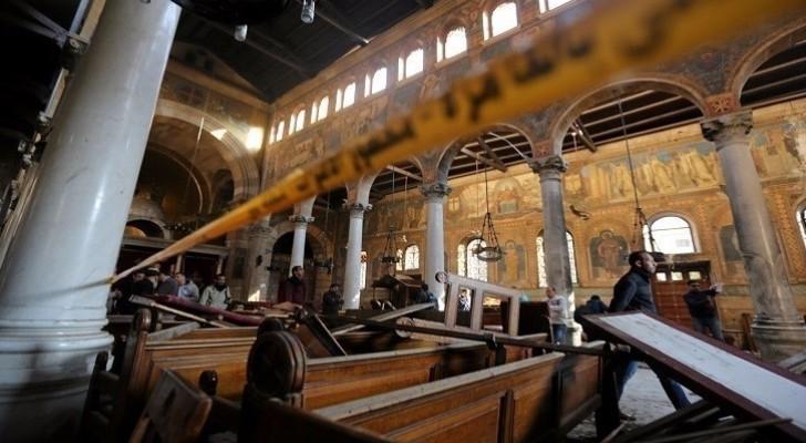 من تفجير الكنيسة - ارشيفية