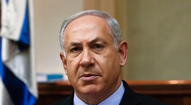 رئيس وزراء الاحتلال الاسرائيلي بنيامين نتانياهو