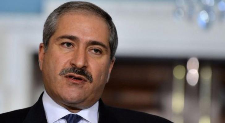 نائب رئيس الوزراء وزير الخارجية وشؤون المغتربين ناصر جوده