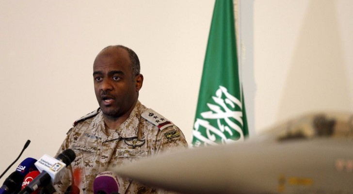 أحمد عسيري المتحدث السعودي باسم التحالف العربي