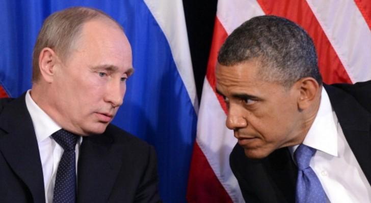 الرئيس الأميركي باراك أوباما و الرئيس الروسي فلاديمير بوتن - أرشيفية