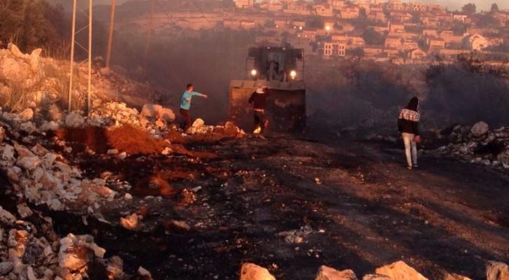 مواجهات مع الاحتلال الاسرائيلي
