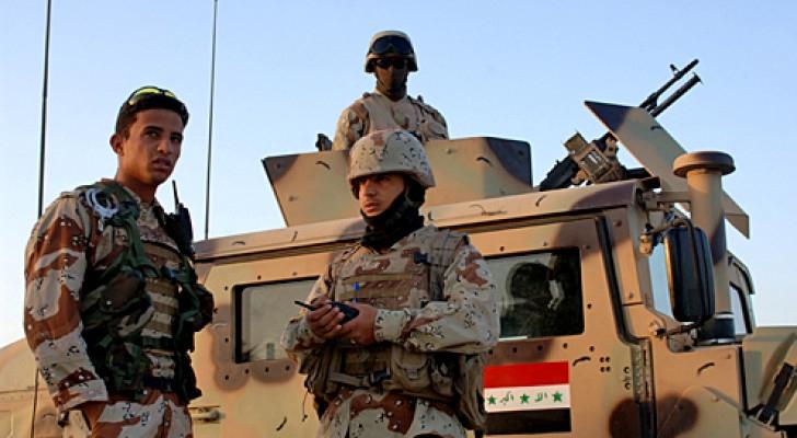 عناصر من القوات العراقية