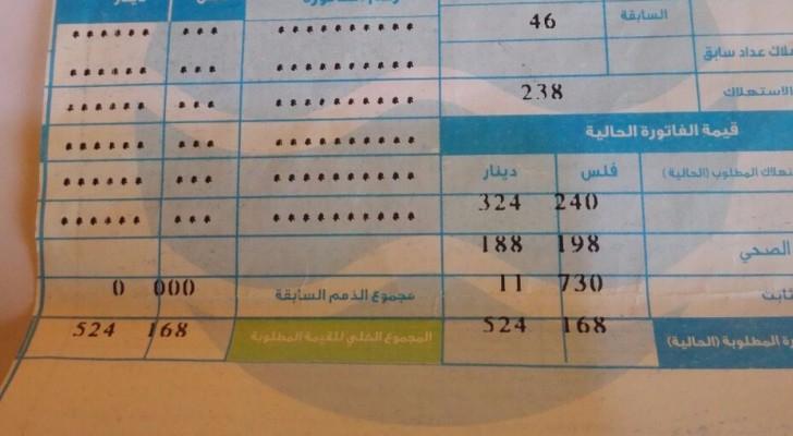 مياهنا أكدت أن قراءة العداد صحيحة