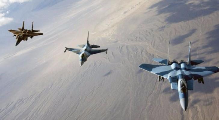 طائرات تابعة للتحالف الدولي - ارشيفية
