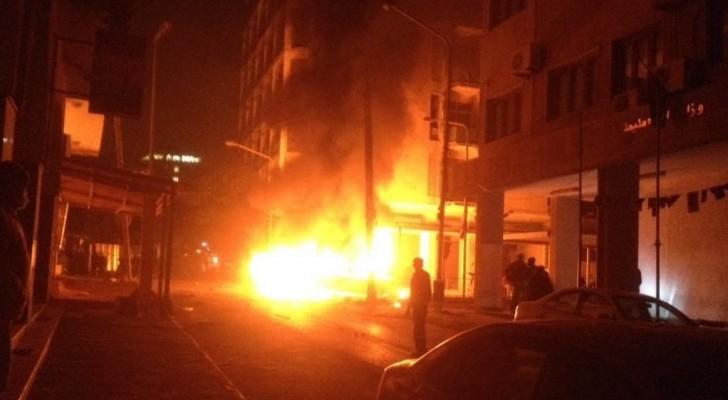 صورة من الانفجار