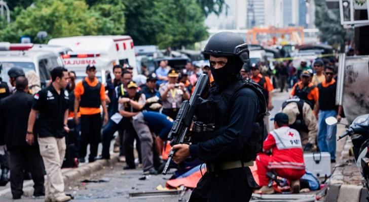 إندونيسيا تعرضت لهجوم إرهابي في يناير 2016