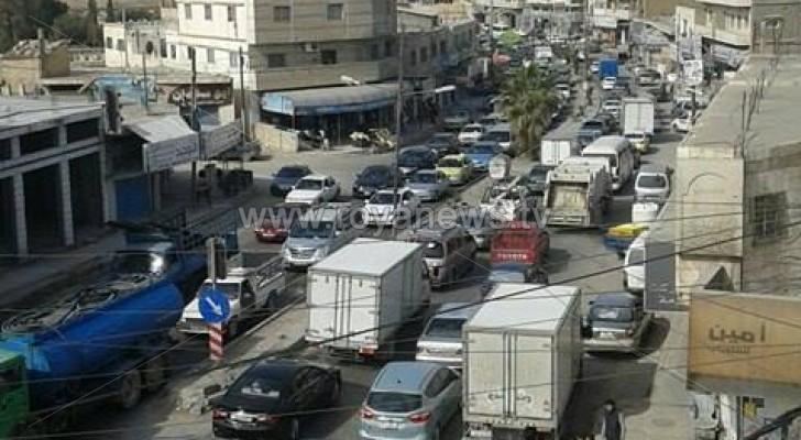 صورة من أزمة السير
