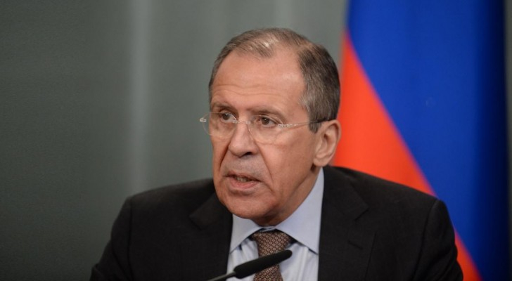 وزير الخارجية الورسي سيرغي لافروف