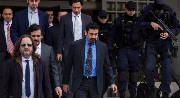 الضباط الأتراك الهاربون أمام محكمة يونانية