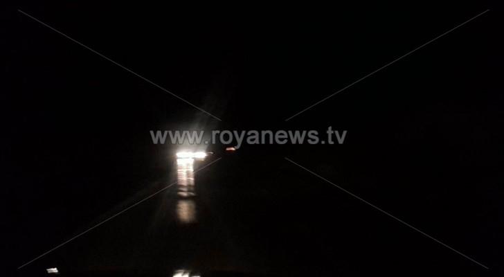 انقطاع الكهرباء في مخيم غزة بجرش