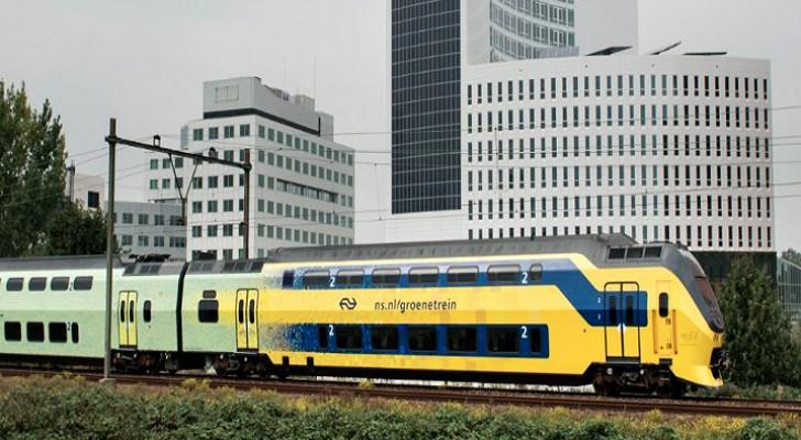 طاقة الرياح تشغل القطارات الكهربائية بنسبة 100%
