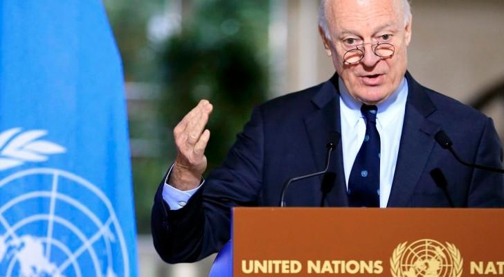 المبعوث الدولي إلى سوريا ستافان دي ميستورا