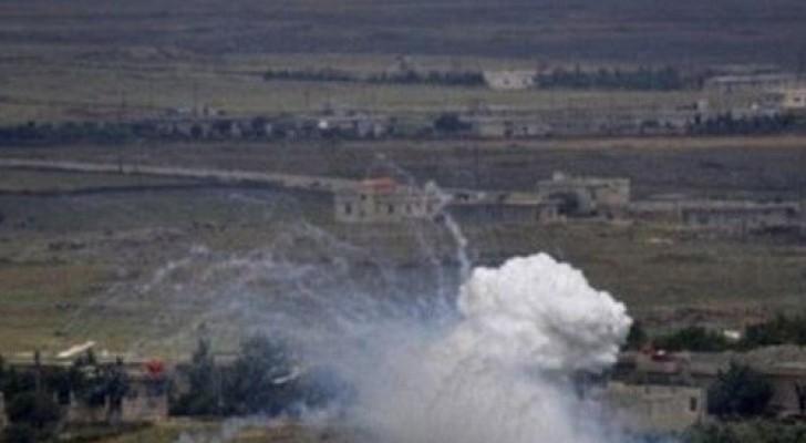 دورية إسرائيلية تطلق قنابل دخانية تجاه لبنان