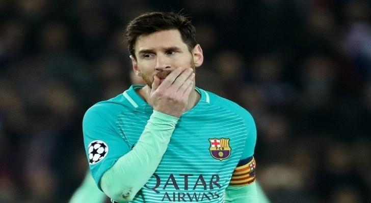 ميسي أحد أسوأ اللاعبين في برشلونة