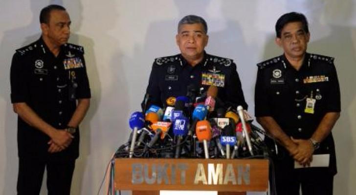 قائد الشرطة الماليزية خالد أبو بكر