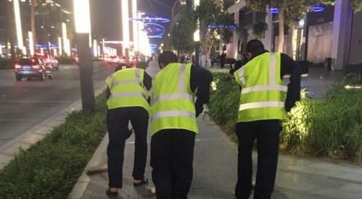 """غسل الشوارع 4 ساعات يوميا عقوبة """"التفحيط"""" في دبي"""