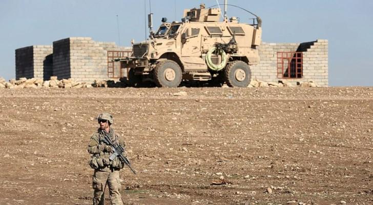 أرشيفية لقوات أميركية في الموصل لمحاربة داعش