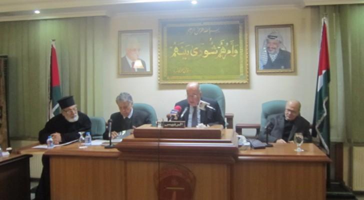 من اجتماع اعضاء المجلس الوطني في عمان