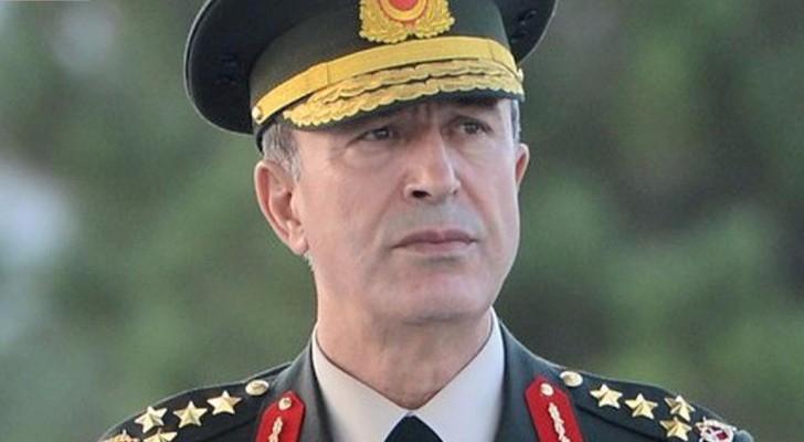 الجنرال خلوصي أكار رئيس هيئة الأركان التركية ارشيفية