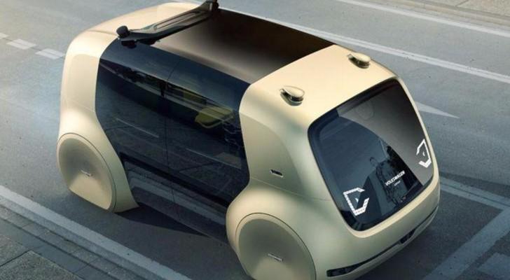 سيارة فولكسفاغن ذاتية القيادة