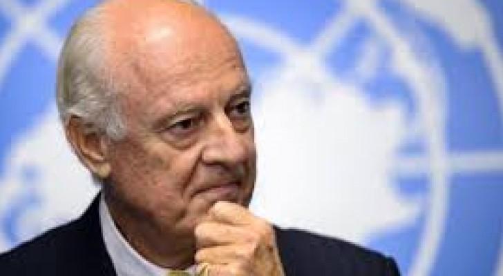مبعوث الأمم المتحدة إلى سوريا ستافان دي ميستورا