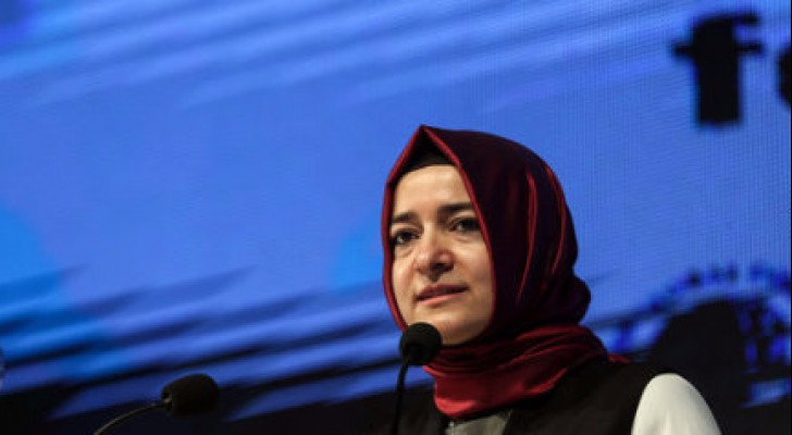 وزيرة الأسرة التركية، فاطمة بتول صيان