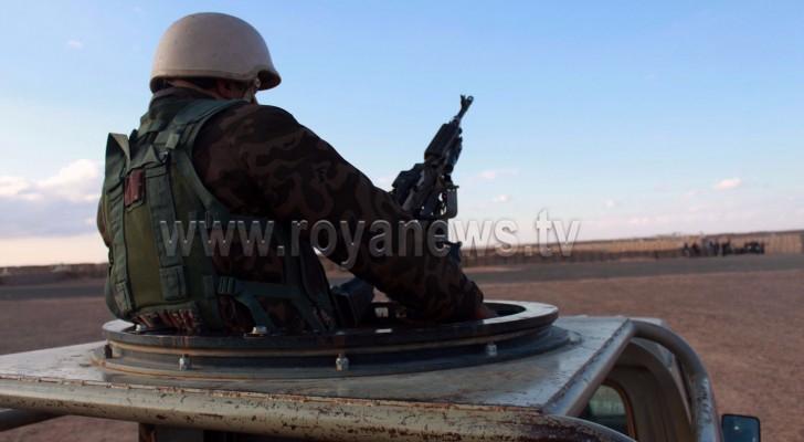 قوات حرس الحدود الأردنية