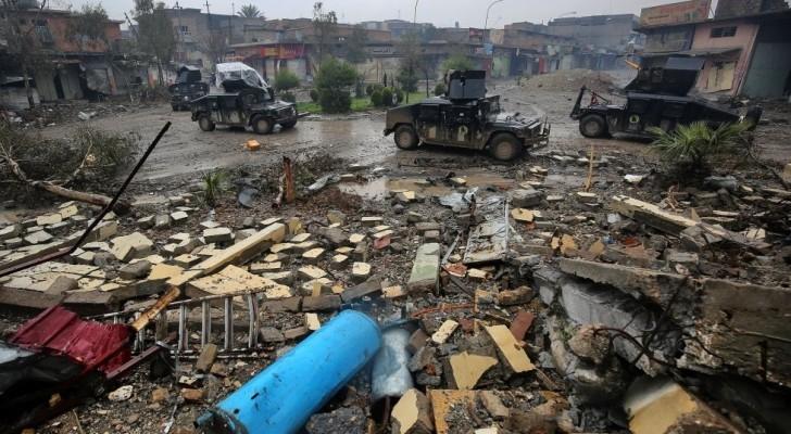 صورة من مجزرة في الموصل