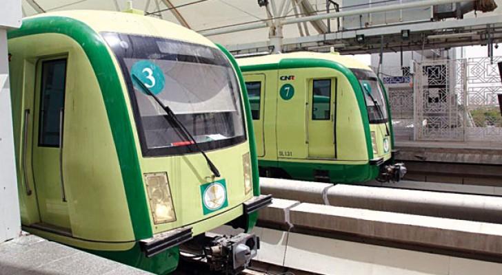 قطارات لنقل الحجاج في مكة - ارشيفية