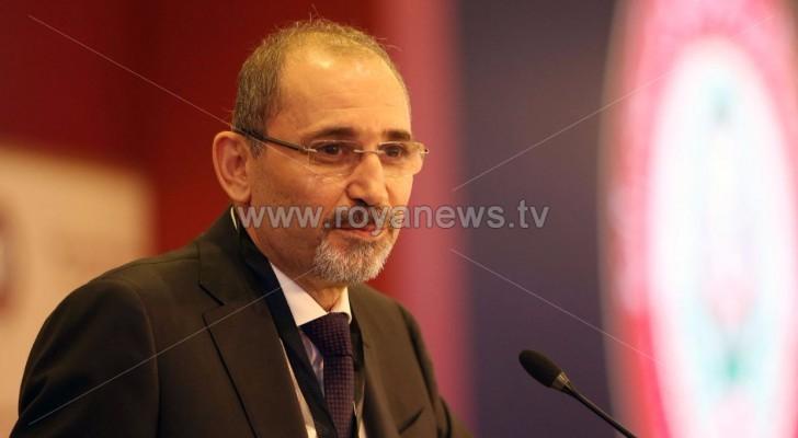 وزير الخارجية أمين الصفدي