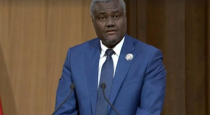 رئيس مفوضية الاتحاد الإفريقي موسى فكي