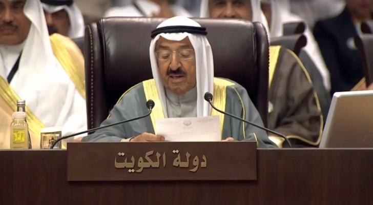 أمير دولة الكويت الشيخ صباح الجابر الصباح