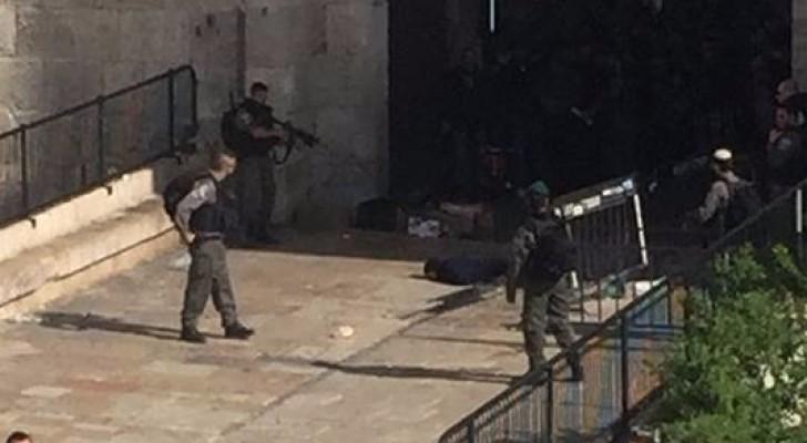 اصابة فتاة بنيران الاحتلال في القدس المحتلة