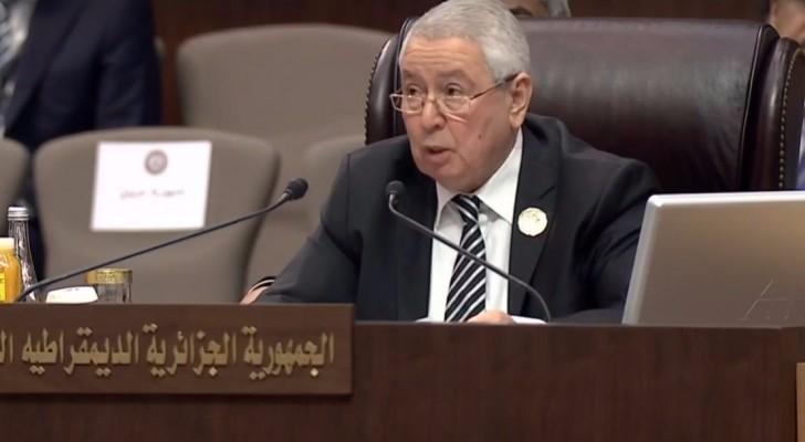 رئيس مجلس الأمة الجزائري عبـد القادر بـن صالـح