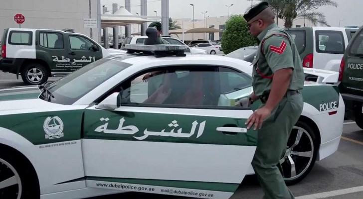 دورية شرطة دبي - أرشيفية