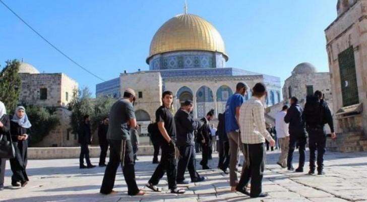 مستوطنون يقتحمون باحات المسجد الاقصى المبارك