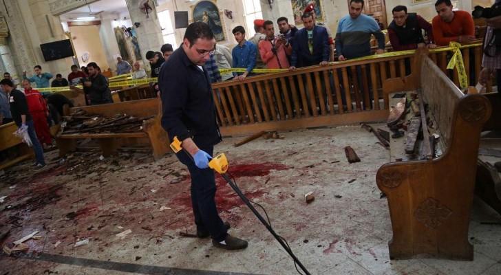 تفجير كنيسة طنطا أدى إلى مقتل العشرات