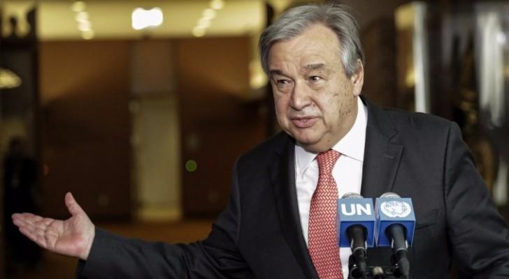 امين عام الامم المتحدة انطونيو غوتيريس