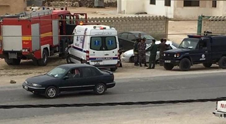 الصورة للحادث من شهود عيان