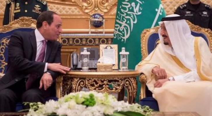 من لقاء خادم الحرمين والرئيس المصري