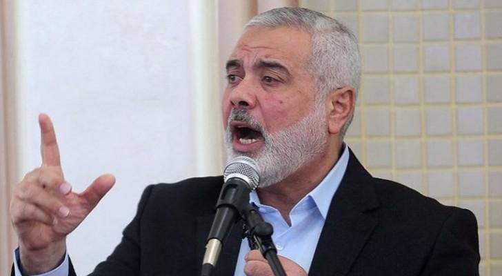 نائب رئيس المكتب السياسي لحركة حماس اسماعيل هنية