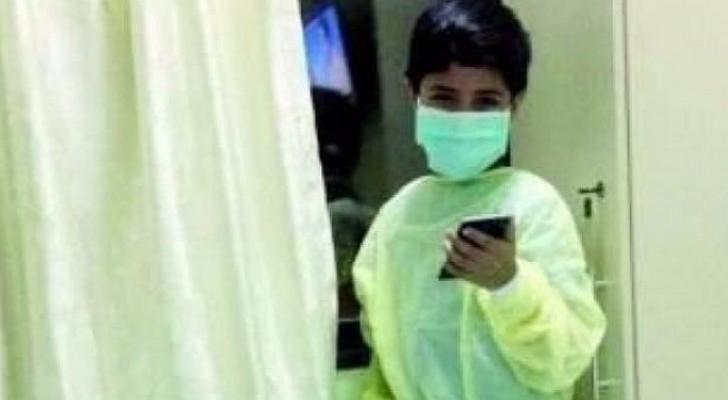 """الطفل سعد الشمري، بحسب صحيفة """""""
