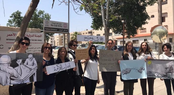 البيان طالب الدولية للصليب الأحمر في عمّان بتحمل اللجنة مسؤلياتها القانونية والأخلاقية تجاه 1500 من الأسرى الأردنيين والفلسطينيين المضربين عن الطعام
