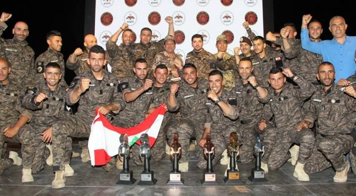تكريم الفريق اللبناني
