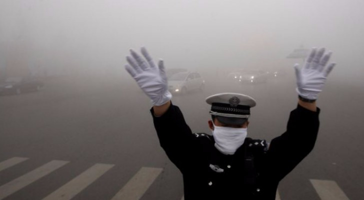 نسب التلوث البيئي في الصين مرتفعة