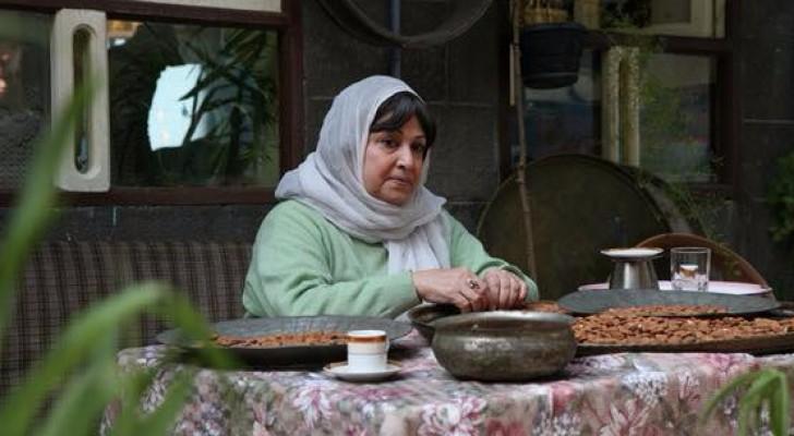 الممثلة السورية القديرة نجاح حفيظ