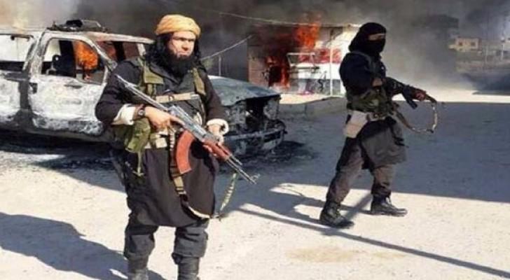 الصورة أرشيفية لعناصر من داعش