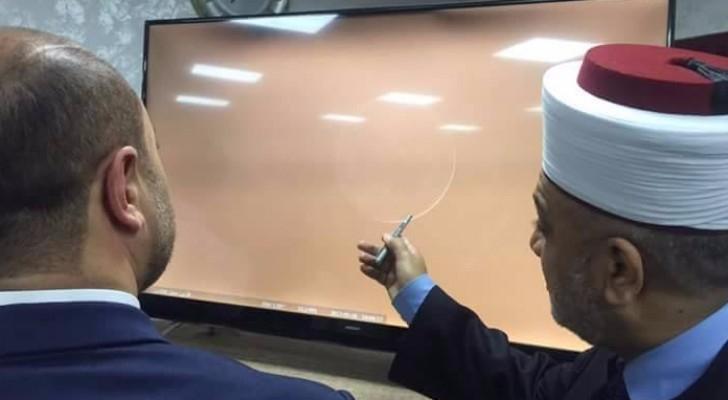 مفتي عام المملكة ووزير الأوقاف يتحريان هلال رمضان المبارك